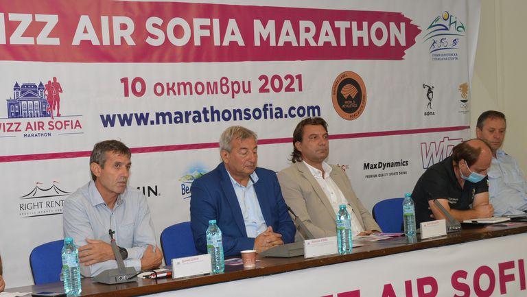 Ще има ваксинационен център на софийския маратон