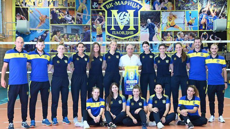 Легендата Христо Стоичков на гости на Марица, марката му H8S ще облича шампионките