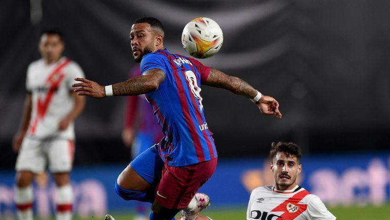 Райо Валекано 1:0 Барселона, Мемфис пропусна дузпа