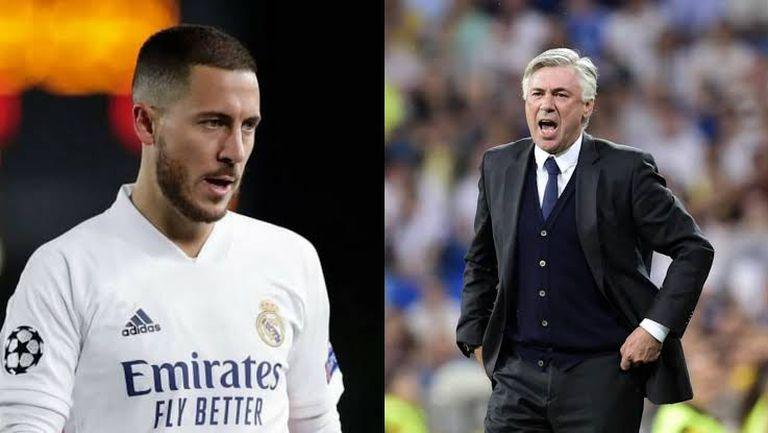 Анчелоти: Азар не играе, защото треньорът предпочита други футболисти