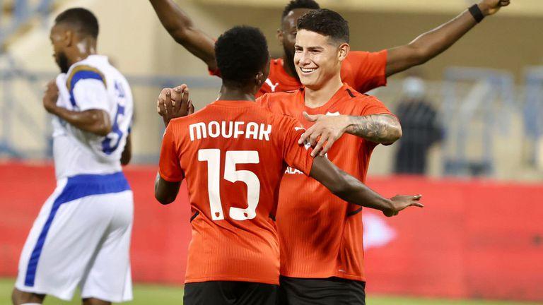 Хамес Родригес с първи гол за Ал Раян