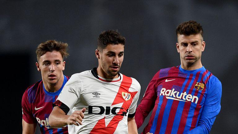Райо Валекано 1:0 Барселона, два пропуска на Агуеро