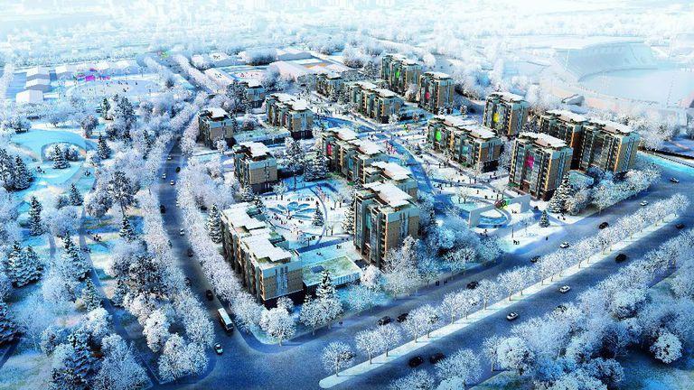 Олимпийското село за Игрите в Пекин 2022 ще бъде открито на 27 януари