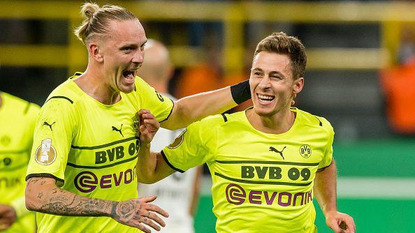 Торган Азар класира Борусия (Дортмунд) на 1/8-финалите за Купата на Германия