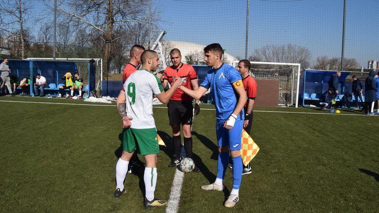 Левски взе трите точки срещу Национал при U19