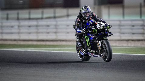 Феноменален Винялес започна сезона в MotoGP с победа под прожекторите в Катар