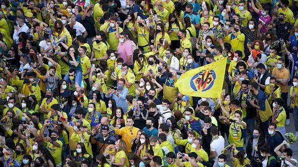Хиляди отпразнуваха трофея на Виляреал в Лига Европа