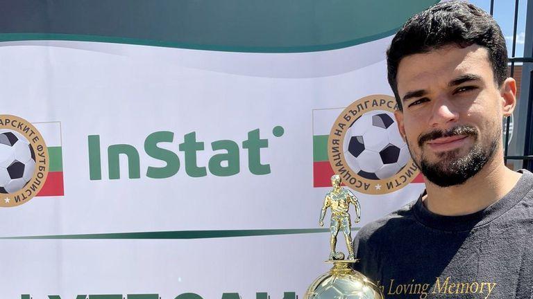 Лудогорец продължава да печели индивидуални награди, Каули Оливейра е №1 за сезон 2020/2021 според InStat