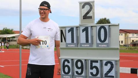 206-сантиметров словенец подобри европейския рекорд на диск за младежи под 23 години