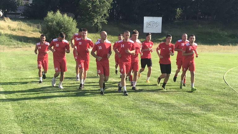 Банско започна подготовка с Галчев и Макриев