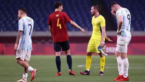 Аржентина се добра до реми срещу Испания, но е аут от Олимпиадата