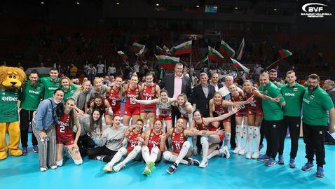 България се цели в първи медал от ЕвроВолей от 20 години насам🏐