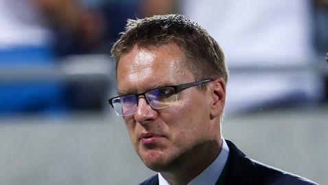 Лудогорец уволни Валдас Дамбраускас преди мача с Левски