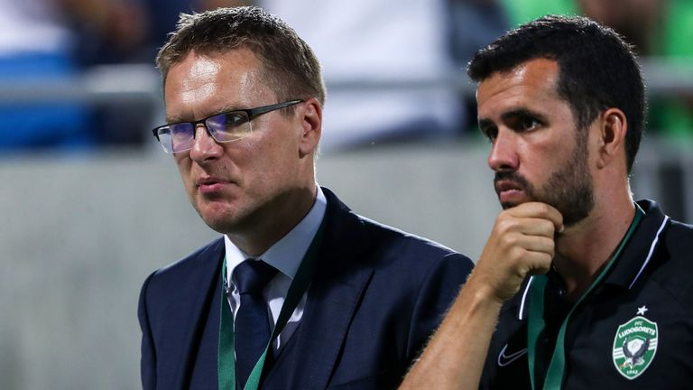 Валдас Дамбраускас: И в двата мача показахме, че заслужаваме да се класираме в следващата фаза