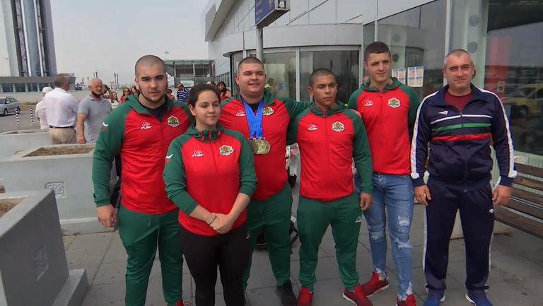 Шампионът от европейското за младежи Ангел Георгиев се завърна в България
