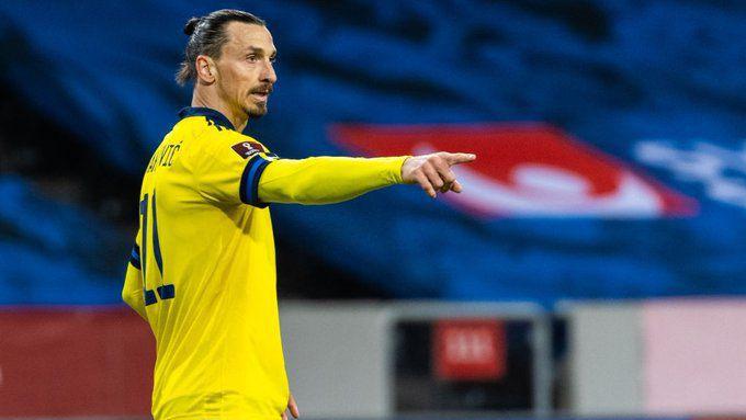 Ибрахимович беше включен в състава на Швеция