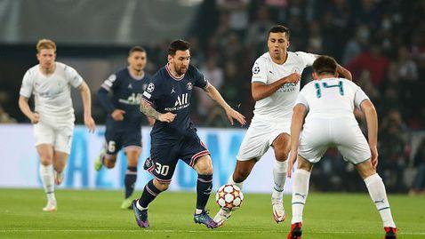 Пари Сен Жермен - Манчестър Сити 2:0, Меси с майсторски гол