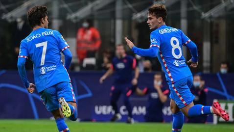 10 от Милан не удържаха щурма на Атлетико