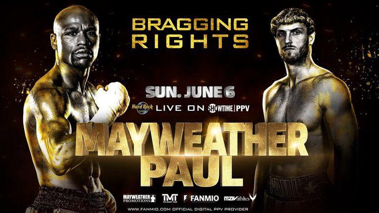 Официално: Флойд Мейуедър срещу Логан Пол на 6-ти юни в Маями
