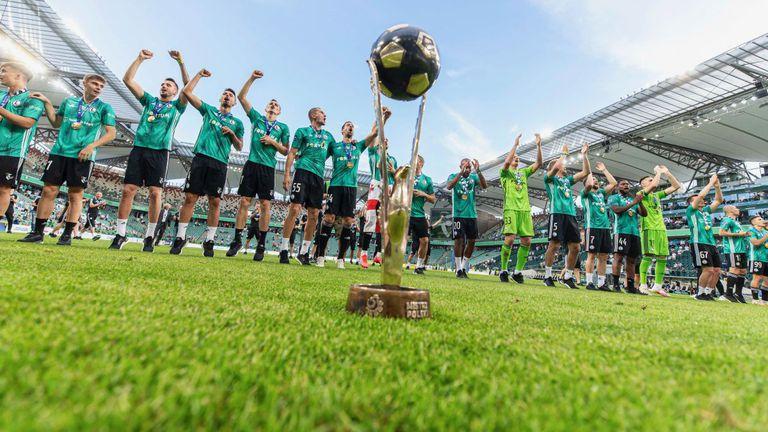 Легия (Варшава) стана шампион на Полша без игра
