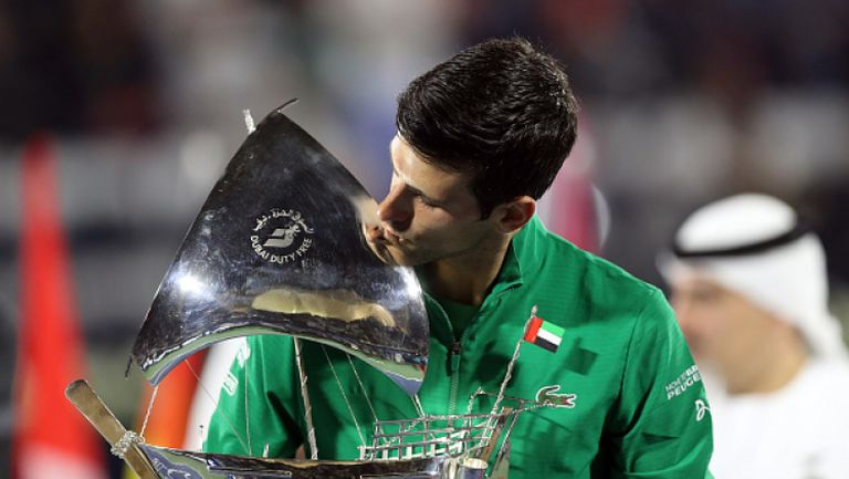 Джокович с пети трофей от турнира в Дубай