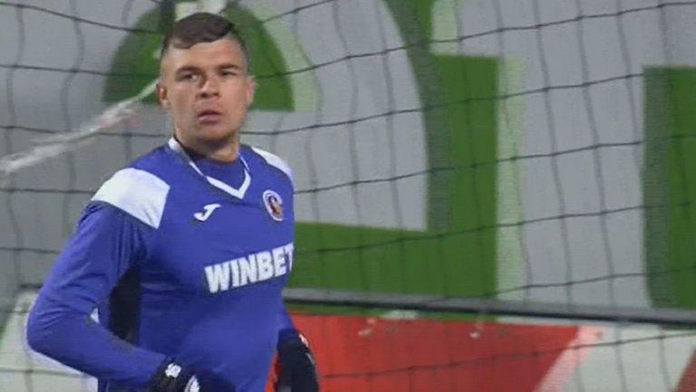 Тонислав Йорданов от резервната скамейка заби шестия гол в мрежата на Витоша
