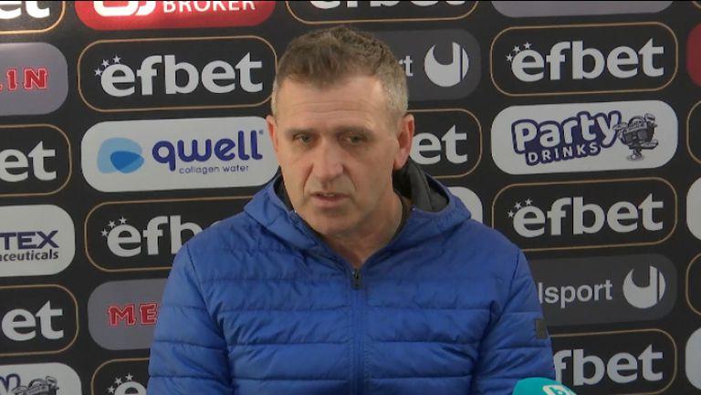 Бруно Акрапович: Мачът протече така, както искахме