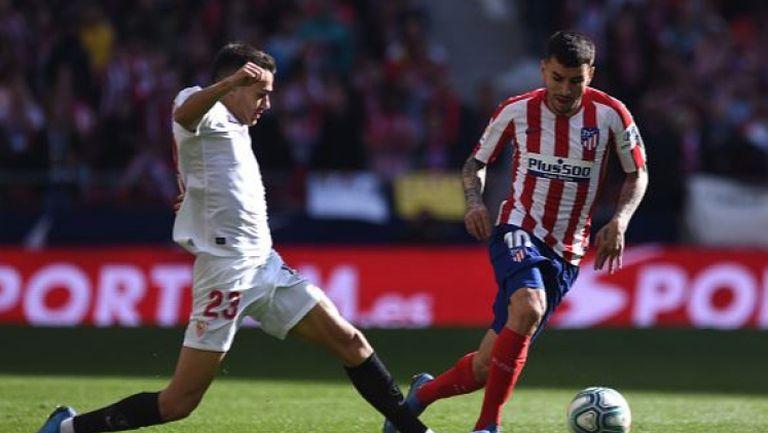 Атлетико Мадрид - Севиля 2:2