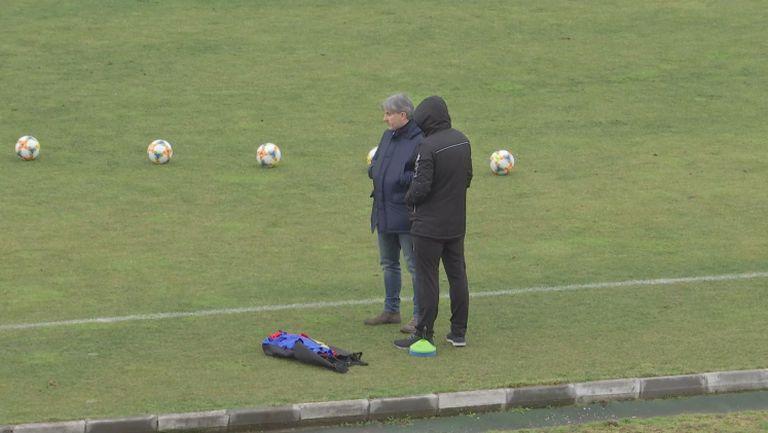 Павел Колев е на стадиона във Враца за Ботев - Левски