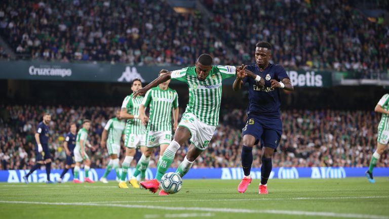 Реал Бетис - Реал Мадрид 2:1