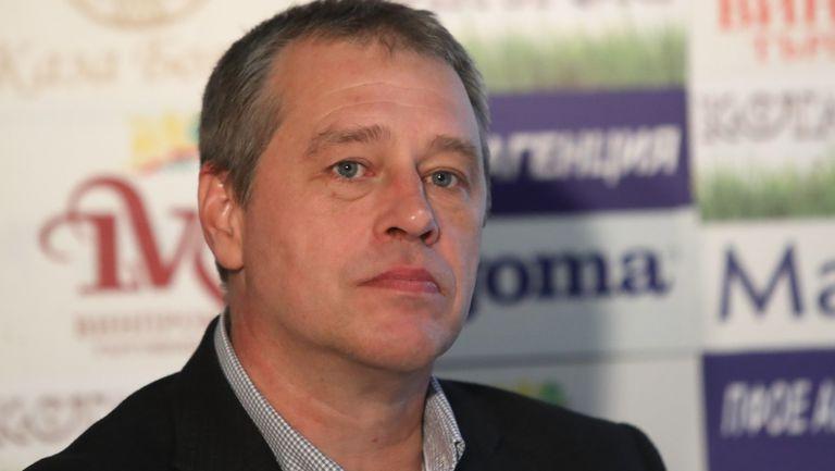 Иво Ивков: Левски се намира по средата на бурен океан, но не потъва