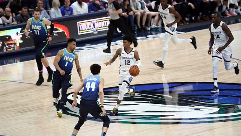 Далас спря негативна серия в последния мач от НБА