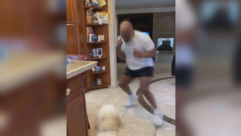 Майк Тайсън ползва кучето си за спаринг партньор