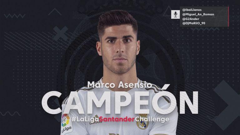 Асенсио донесе специален трофей на Реал Мадрид