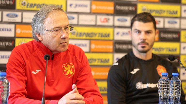 Георги Дерменджиев: Бях на 100% сигурен с титулярния състав за Унгария
