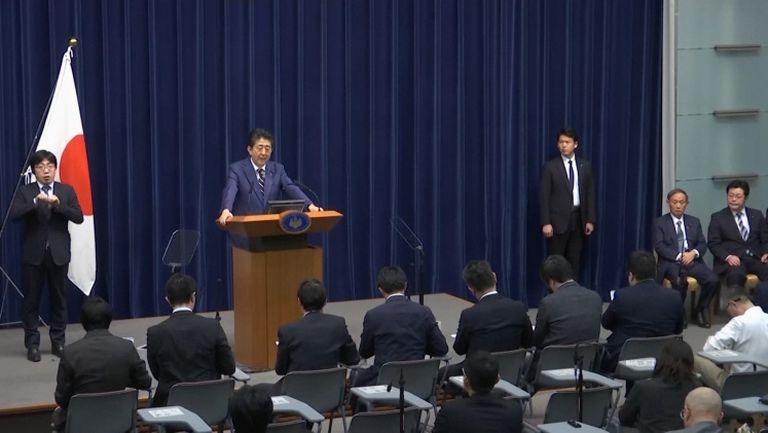 Министър-председателят на Япония Шиндзо Абе с коментар след отлагането на Олимпиадата