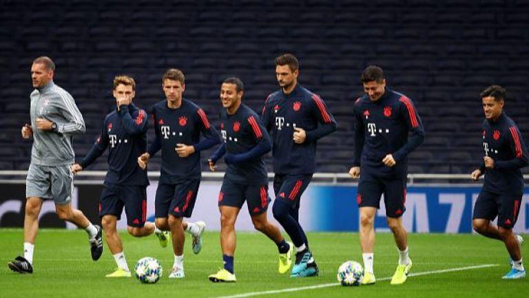 Байерн започва тренировки на първия тим