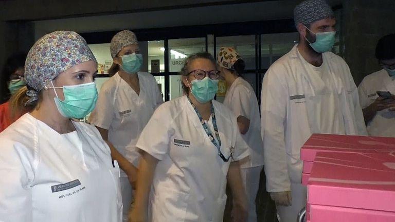 Виляреал ще храни медицинските лица