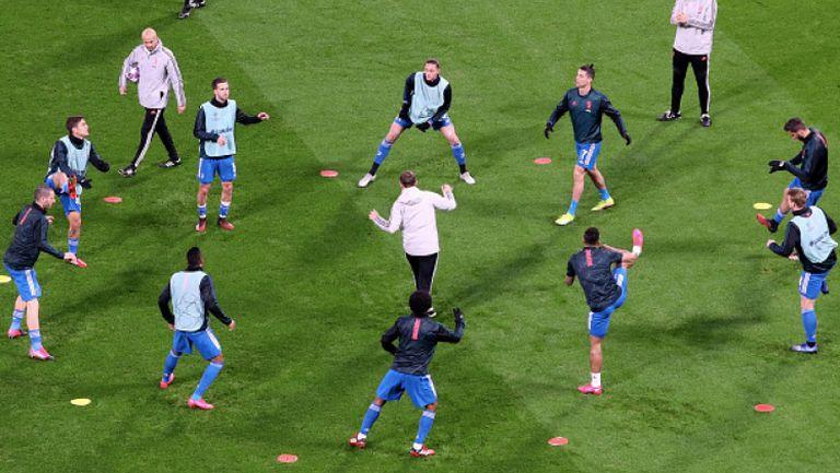 Вижте как тренират звездите на Серия А в домашни условия
