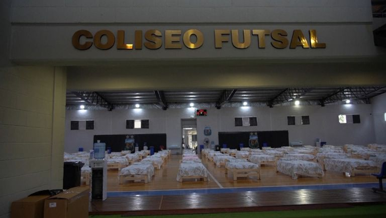 Футболната федерация на Аржентина помага на правителството в борбата с Covid-19
