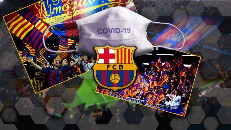 Барселона пусна трогателно видео за борбата с Covid-19