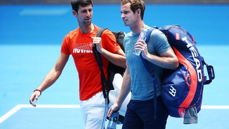 Джокович и Мъри обсъдиха кои са най-добрите в тениса