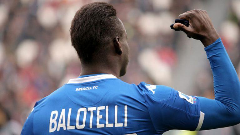 Кристиано Роналдо не попадна в идеалния състав на Марио Балотели