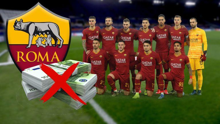 Футболистите на Рома се отказаха от заплатите си