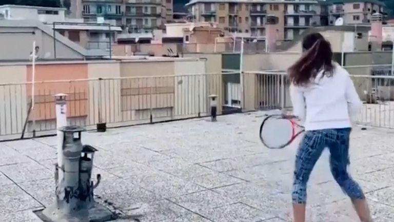 Тенис по време на карантина