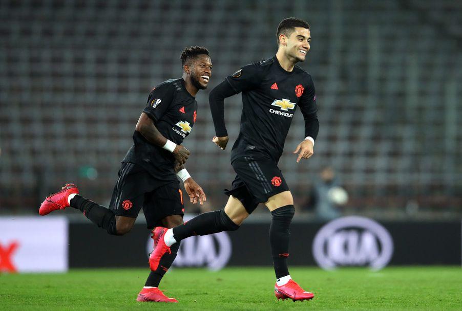 ЛАСК - Манчестър Юнайтед 0:5