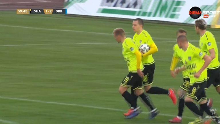 Шахтьор (Солигорск) изравни резултата срещу Динамо (Брест)