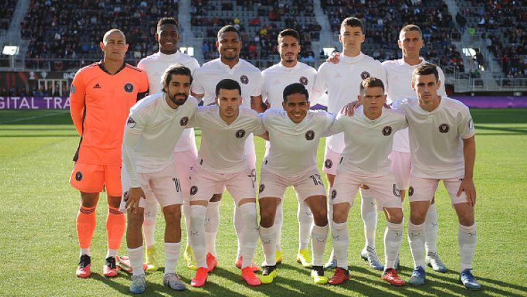 Футболистите на Интер Маями с индивидуални занимания