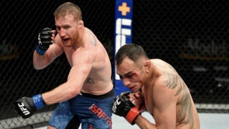 Джъстин Гейджи преби Тони Фъргюсън и преобърна йерархията в лека категория на UFC 249!
