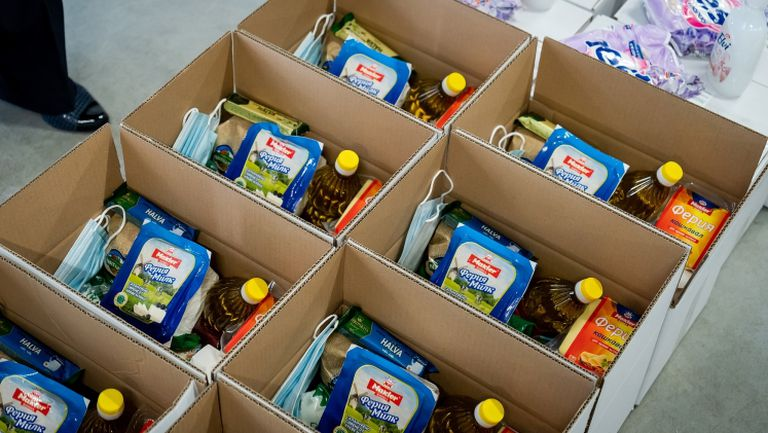 Лудогорец дари храна на 4000 човека